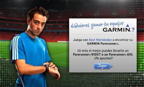 Xavi Hernández - Garmin Forerunner