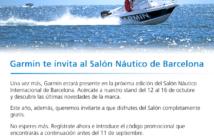 Garmin te invita al Salón Náutico de Barcelona
