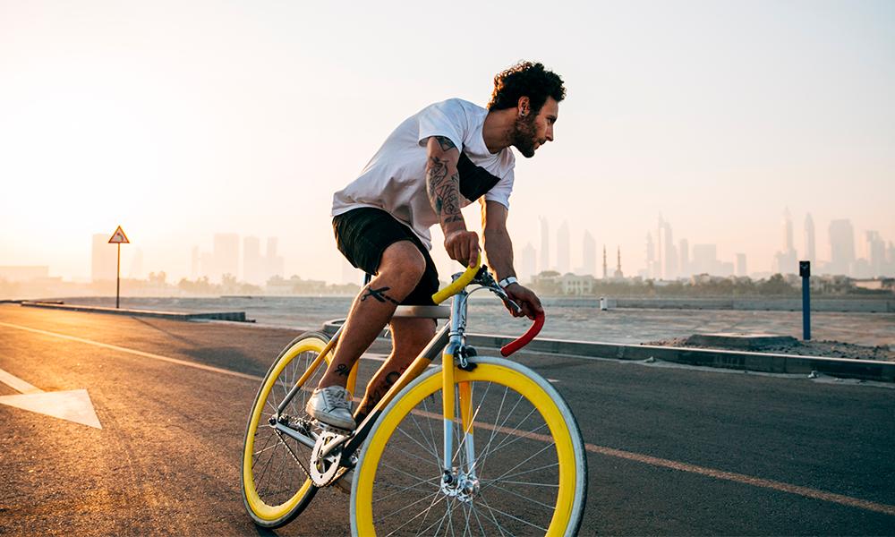 dolor de cuello al ir en bicicleta