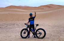 Entrevista a Edi Díaz, fatbaker de la Garmin Titan Desert